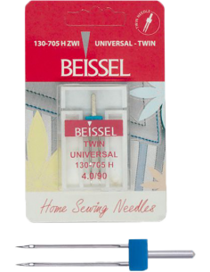 Aguja doble Beissel/ twin /...