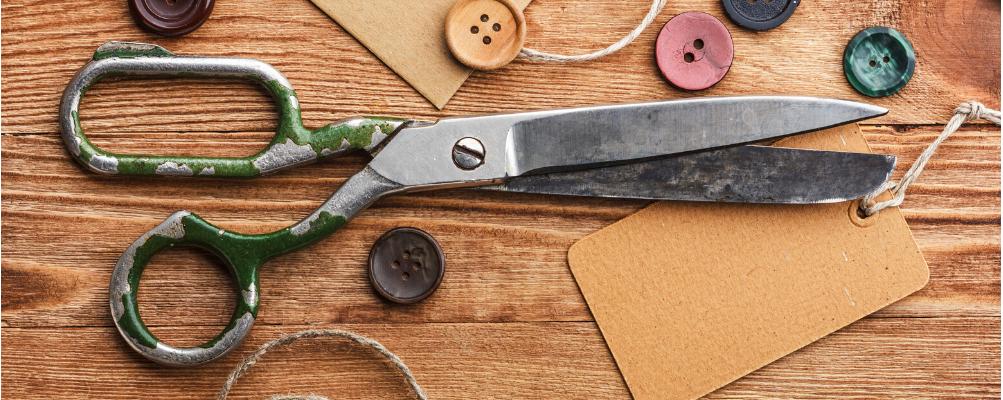 Tijeras y cortadores de telas